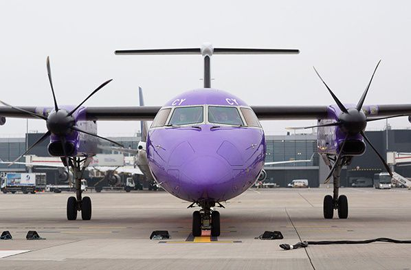 flybe aircraft Bombardier Q400