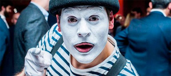 francis perin animation originale evenement spectacle mime