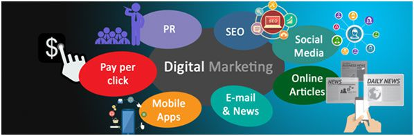 digital marketing innovation sms seo mails