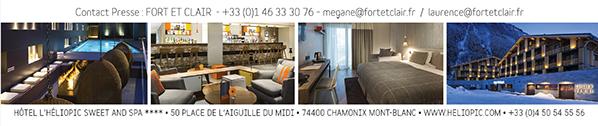 Hôtel Héliopic Sweet & Spa chamonix mont blanc aiguille midi alpes france