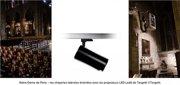targetti projecteur led