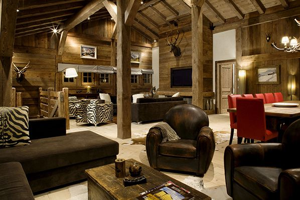 interieur chalet Amazon Creek chamonix