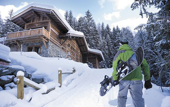 chalet Amazon Creek chamonix snowboard