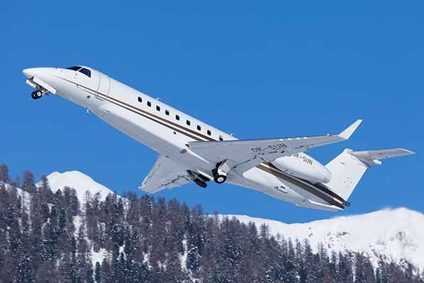 embraer Legacy 600 private fly