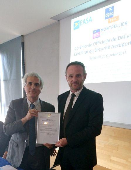 Remise du certificat - Philippe Ayoun & Emmanuel Brehmer