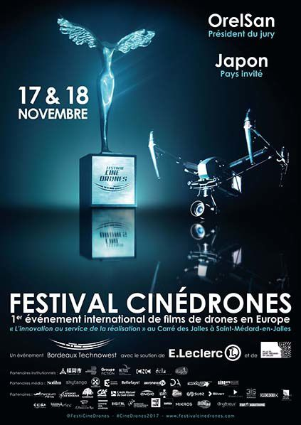 affiche Festival international CinéDrones