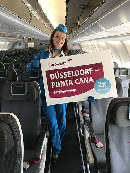 Eurowings lance ses vols long-courriers au départ de Düsseldorf