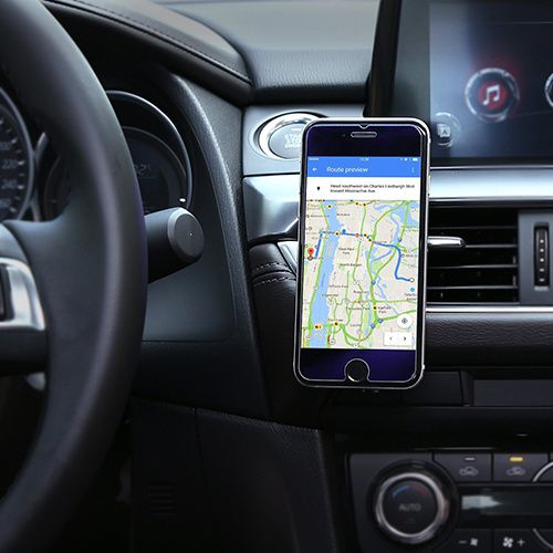 support magnetique smartphone gps
