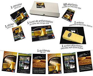 Un kit de promotion et de dégustation pour organiser la semaine du Laguiole en boutiques spécialisées