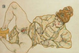 "Body images mirrored in the ""irrecoverable I""  An essay explaining the relations between Schiele, Vienna circa 1900, Freud, and the fascination of Eros and Thanatos."
