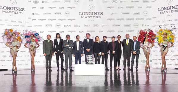 Longines Masters Paris - Hong Kong - New York lido paris