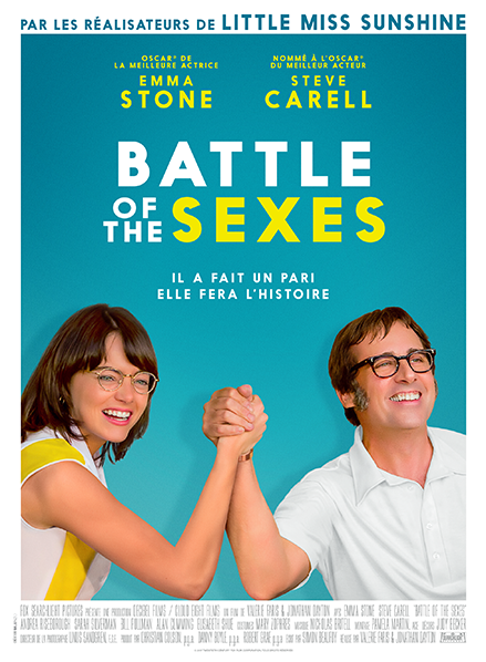 affiche fim BATTLE OF THE SEXES