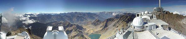 webcam pic du midi pyrenees montagne paysage tourisme