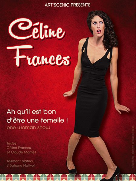 celine frances  one woman show humour
