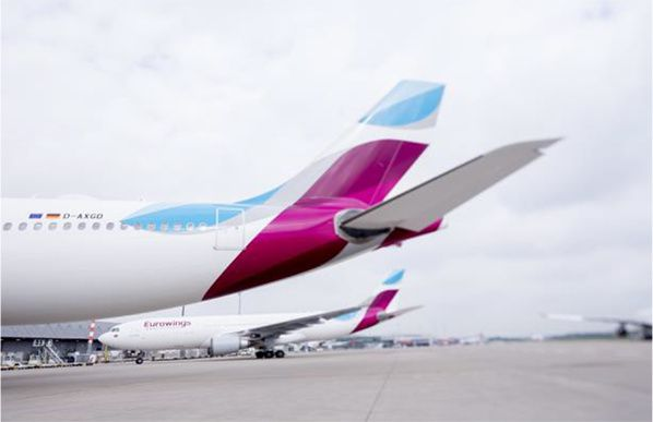 eurowings low cost long courrier
