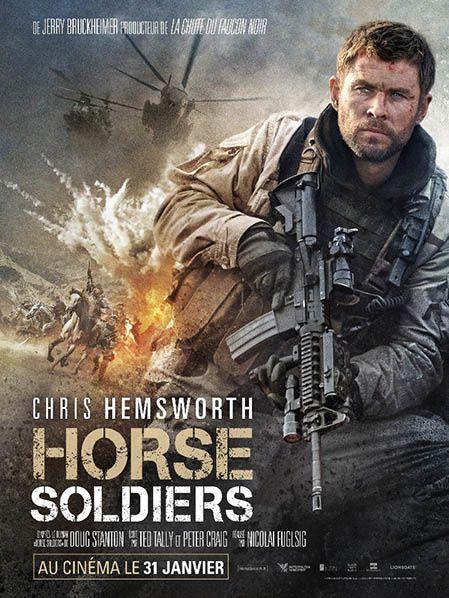 affiche officielle film horse soldiers