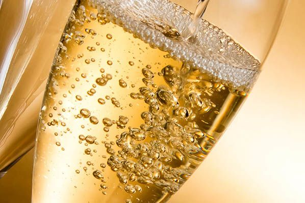 cheers sante saludo champagne bulles luxe chic