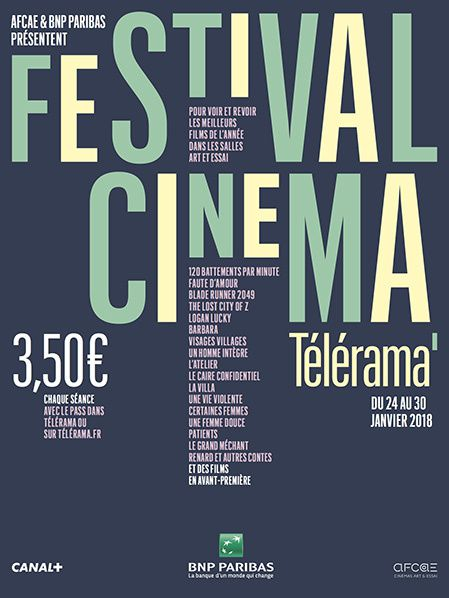 affiche festival cinema telerama bnp paribas