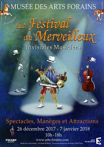 festival merveilleux invisbles musiciens affiche