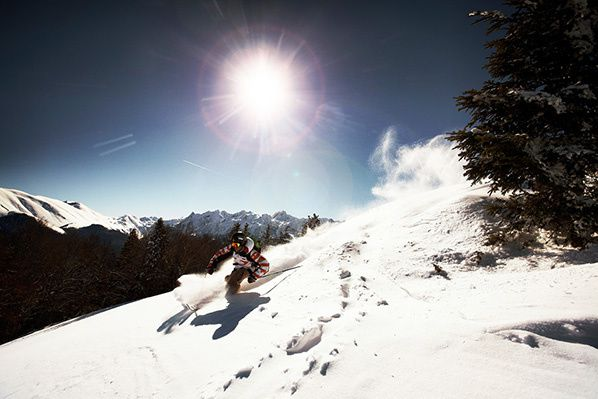 Luchon-Superbagnères pyrenees ski