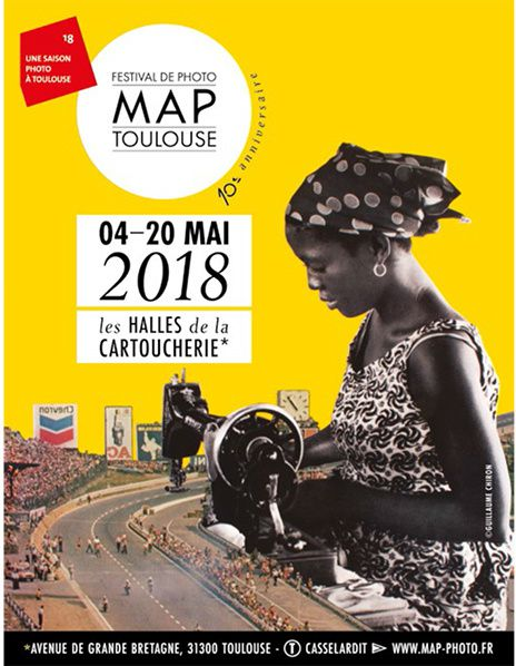 affiche festival photo map toulouse cartoucherie