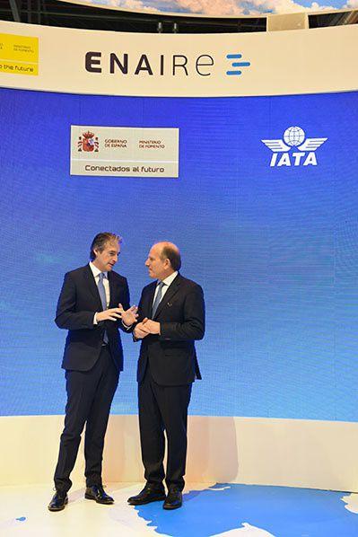 Ínigo de la Serna y Alexandre de Juniac de IATA