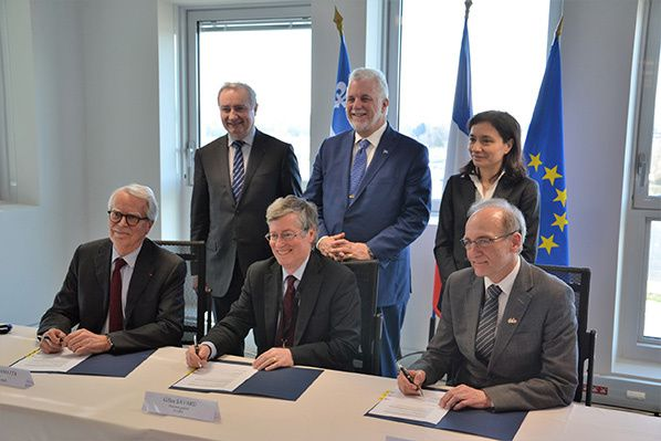 signature accord france quebec cooperation scientifique intelligence artificielle
