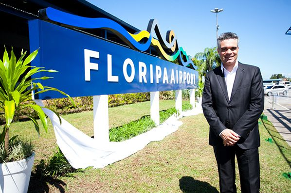 Tobias Markert, CEO of Floripa Airport
