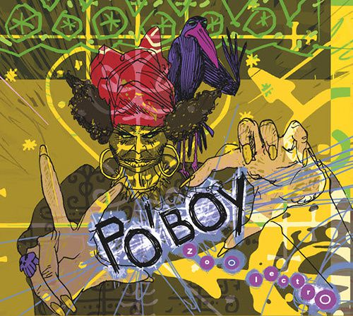 poboy zoolectro album couverture