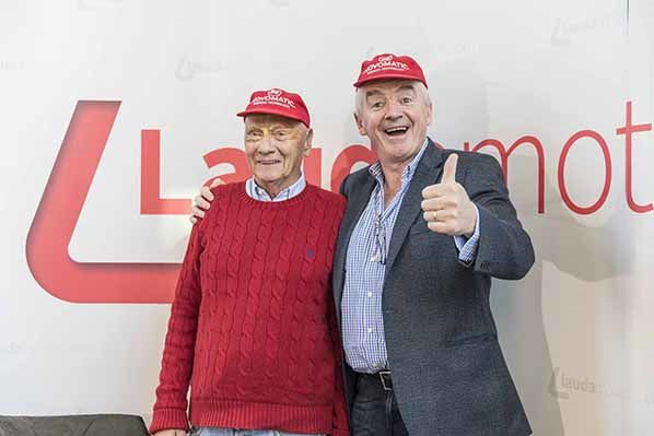 Michael O'Leary - Niki Lauda - © Ernst Kainerstorfer