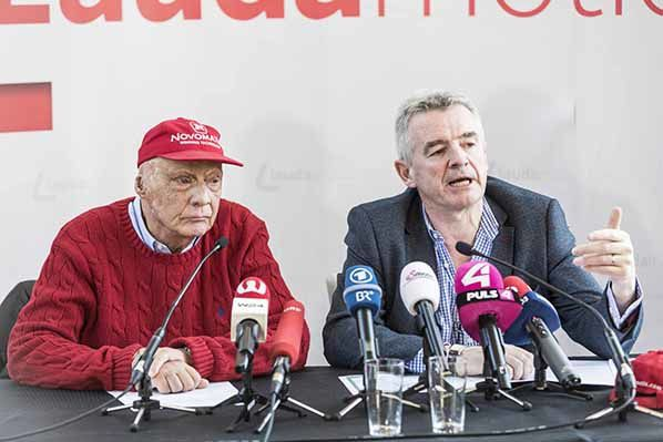 Niki Lauda - Michael O'Leary - © Ernst Kainerstorfer