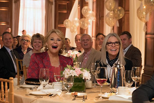 (G-D) Candice Bergen, Diane Keaton in the film, BOOK CLUB, by Paramount Pictures - Photo credit: Melinda Sue Gordon