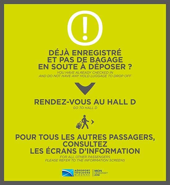 Info passangers toulouse blagnac airport security checkpoint