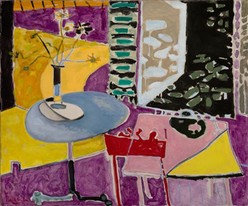 Private collection Oil paint on canvas  © Estate of Patrick Heron. All Rights Reserved, DACS 2018