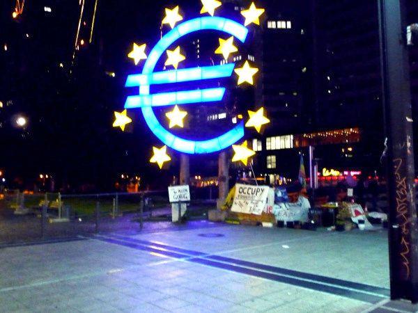 occupy frankfurt euro ue