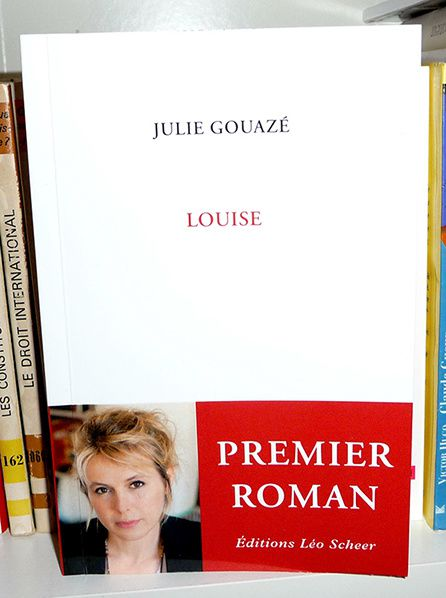 couverture Louise - Julie Gouazé