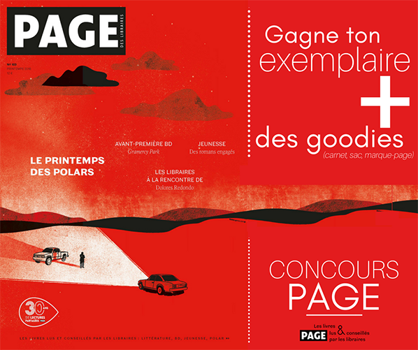 concours page libraire special polar