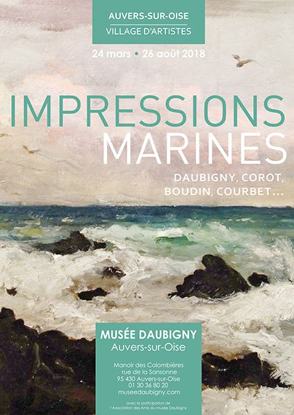 affiche exposition impressions marine