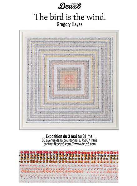 exposition Gregory Hayes galerie deuxsix
