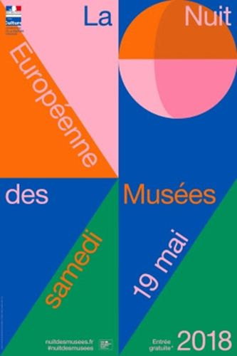affiche nuit europeenne musee