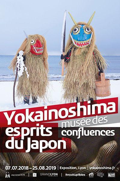 affiche yokainoshima esprits japon