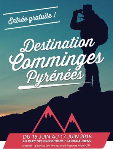 affiche salon destination comminges pyrénées