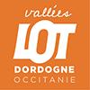 logo lot dordogne occitanie tourisme