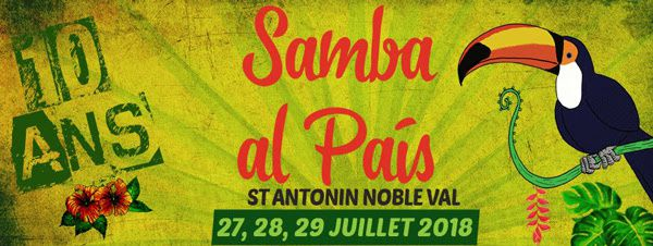 flyer samba al pays