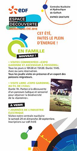 animation exposition famille edf centrale nucleaire golfech
