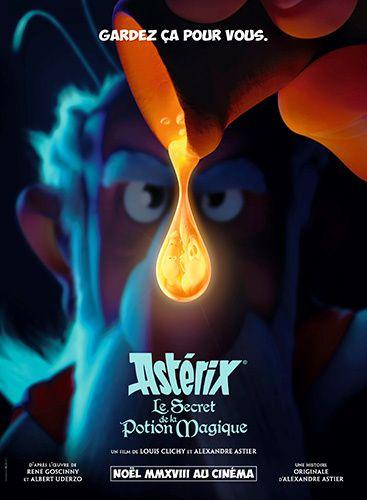 affiche film asterix potion magique