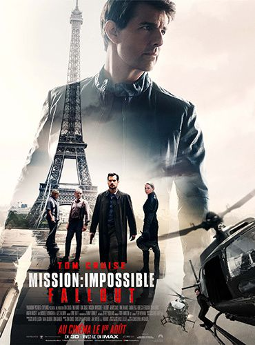 affiche mission impossible fallout tom cruise paris film