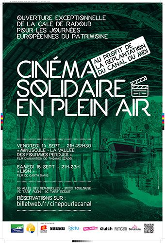 Affiche Cinema Plein air VNF