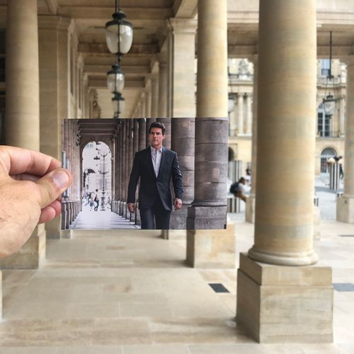 paris tom cruise palais royal tournage film fallout mission impossible