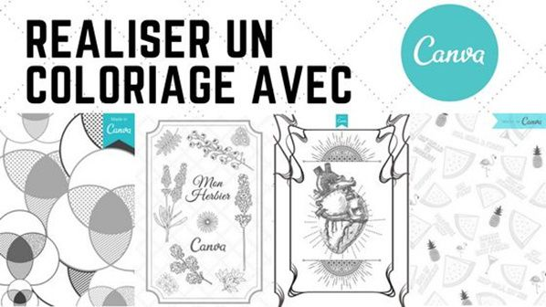 realiser coloriage canva